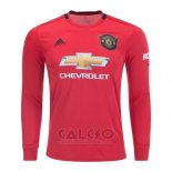 Maglia Manchester United Authentic Home Manica Lunga 2019-2020