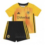 Maglia Wolves Home Bambino 2019-2020