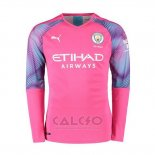 Maglia Manchester City Away Portiere Manica Lunga 2019-2020